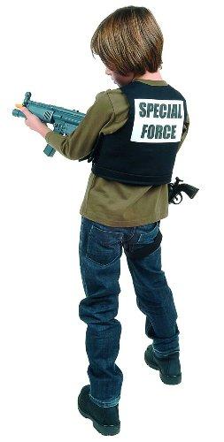 Special Kostüm Forces - Kostüm Special Force Weste, 5-7 Jahre