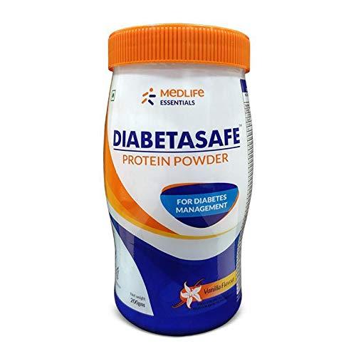 Medlife Essentials Diabetasafe Protein Powder (Vanilla Flavour) - Pack 1