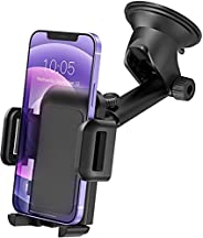 Epeios Car Phone Holder, Dashboard Car Phone Mount, Windscreen Universal Car Cradle with One Button Release&am