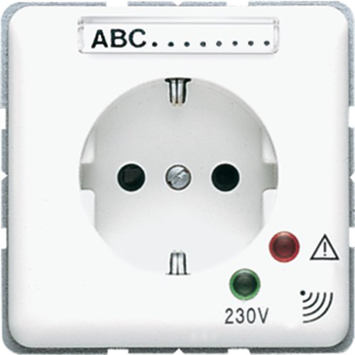JUNG CD500 - BASE SCHUKO 16A-AC/250V PROTECCION SOBRECARGA BLANCO