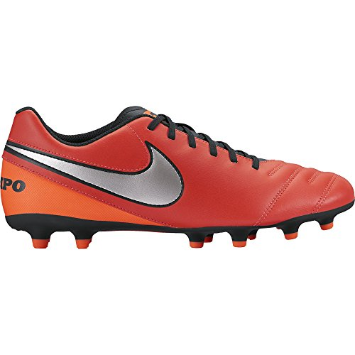 scarpe da calcio NIKE TIEMPO RIO III FG 819233-608 ARANCIO-ARGENTO