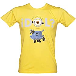 T-Shirt Bianca Minions Cavernicoli Originale Cro maglia maglie Stuart Bob