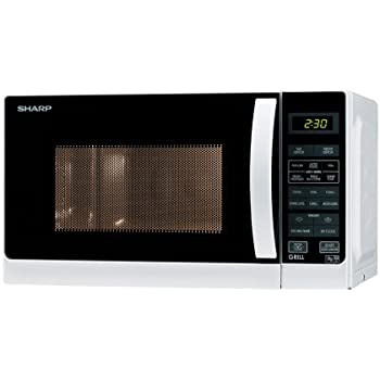 Sharp 20 Litre Microwave and Grill, White