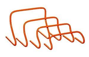 agility sport pour chiens - lot de 4 mini-haies, 4 hauteurs: 1x 16 cm, 1x 23 cm, 1x 30 cm, 1x 40 cm