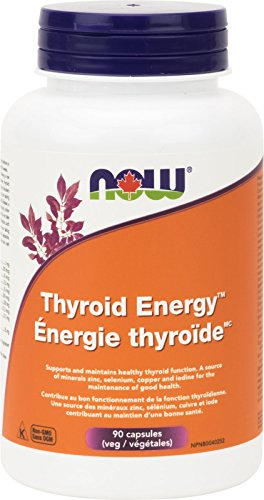 Now Foods, Schilddrüsen (Thyroid) Energie, 90 Veg. Kapseln