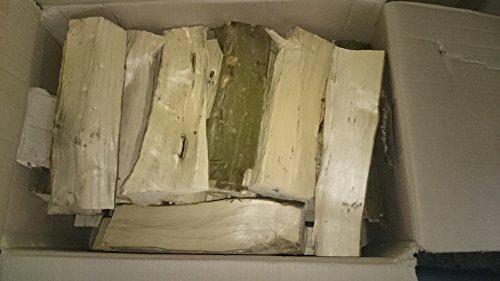 BRENNHOLZ Kaminholz Hain/Buche 30 kg getrocknet 25er Scheite - im Karton (0,49€/kg)