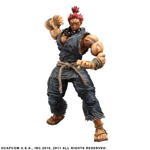 Figurine 'Super Street Fighter IV' Play Arts Kai - Akuma (Gouki)