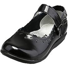 Scothen Zapatos princesa párrafo lentejuelas zapatos de lazo del traje bailarina Carnival festivas para niños zapatos bailarina zapatos muchacha festivos Bautizo Comunión celebración boda
