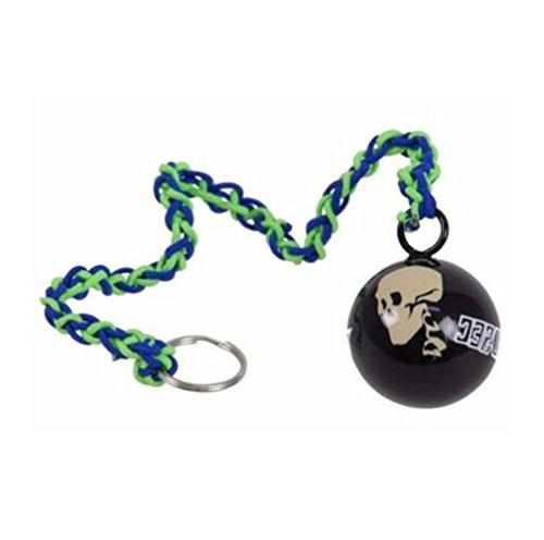Herren Blau Zip Jacke Spiel Cosplay Kostüm Und Cosplay Bekleidungszubehör (One Size, Mehrfarbig Ball) ()
