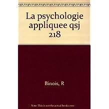 LA PSYCHOLOGIE APPLIQUEE
