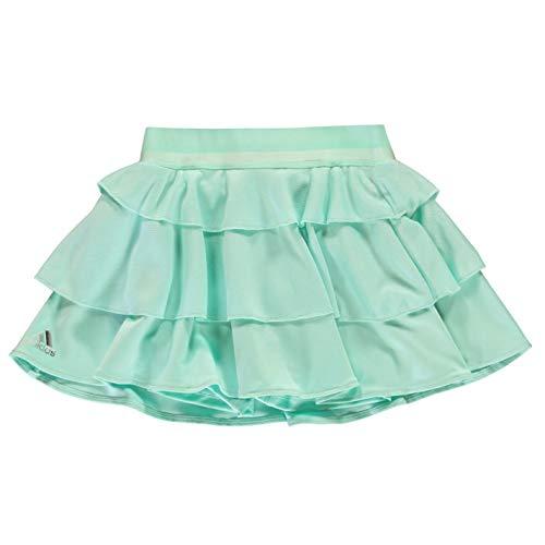 adidas Mädchen Frill Tennisrock Clear Mint, 164