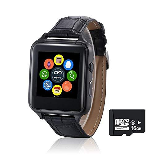 KDSFJIKUYB Smartwatch X7 Bluetooth Smart Uhren Touch Screen Bluetooth Smart Uhr mit Kamera für Apple Android Wear Unterstützung SIM Whatsapp, schwarz, mit Kleinkasten