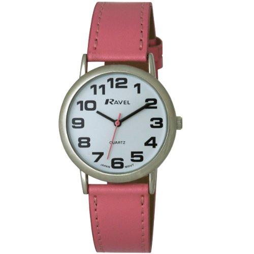 TimeLine Press, LLC R0105.13.5 - Reloj de cuarzo para mujer, con correa de plástico, color rosa