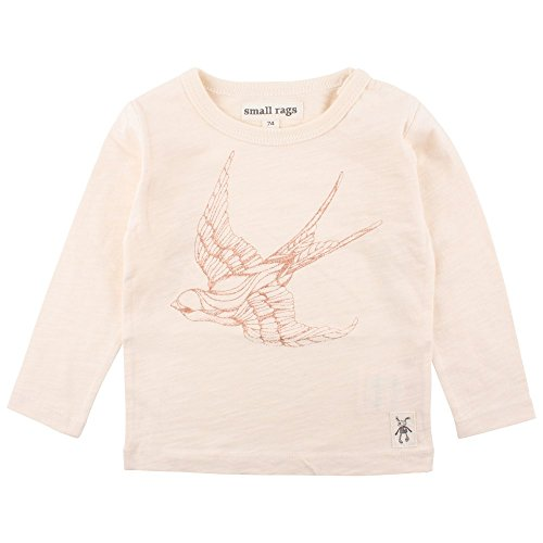 Small Rags Small Rags Baby-Mädchen Bluse Ella LS Top Elfenbein (White Peach 02-39) 50