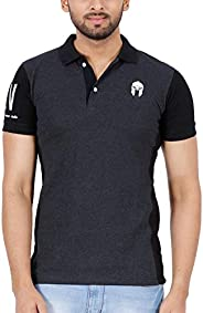 Zsolt Mens slim fit Cotton Polo tShirt