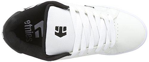 Preto 5 Skate Fader Sapatos Branco Homens 117 Etnies Brancos 1 Preto BEvwEa