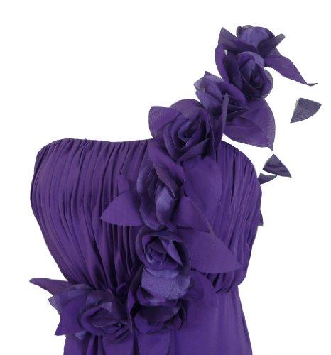 Alivila.Y Fashion Damen Kleid Violett