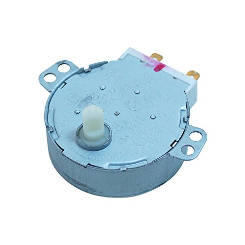 Moteur de plateau tournant pour micro-ondes 251200310001, 261502200202 CANDY 49010709, 49006054, 49021718 H.13 mm 4 W, 4 RPM Modèle CMG2394DS, RMG28DFPN - RMG28DFIN, TKM15SS, MIC25GDFX, KITCMW...,CMG201M DELONGHI SUPERCALOR MO618CY