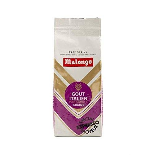 Malongo–Italienisch Cafe Kaffeebohnen Special Mahlwerken–250g (ein Stück)