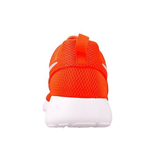 Nike Wmns Roshe One, Blanc-orange Chaussures De Course À Pied Pour Femme