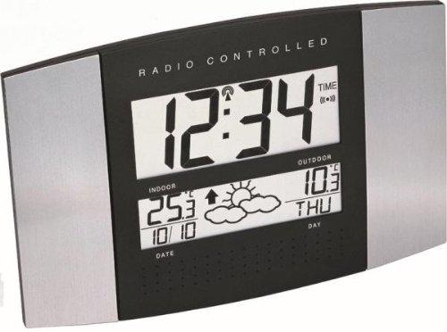 Funk-Wanduhr mit Wetterstation WS 8117
