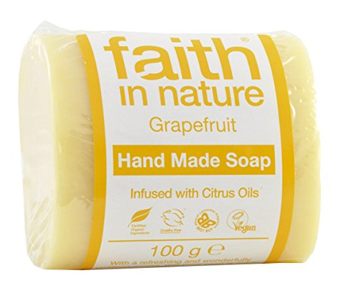 Faith In Nature Grapefruit Hand Made Soap, 100 g