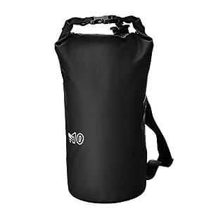 Mpow Wasserdichte Trockentasche Wasserfester Packsack Handyhülle, Unterwasserbeutel Dry Bag zum Kajaken, Strand,Rafting,Wassersport,Wandern, Camping und Fischerei