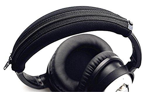 50ccd80af50 jhgj Ersatz Ohrpolster Ohr Pads-Kissenbezug Kopfhörer Replacement Headband  Black