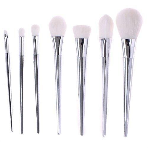 ZN Lot de 7 pinceaux de maquillage pour fond de teint ou paupières