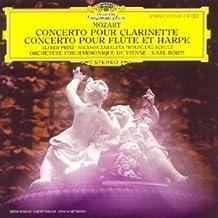 Mozart : Concerto pour clarinette - Concerto pour flûte et harpe