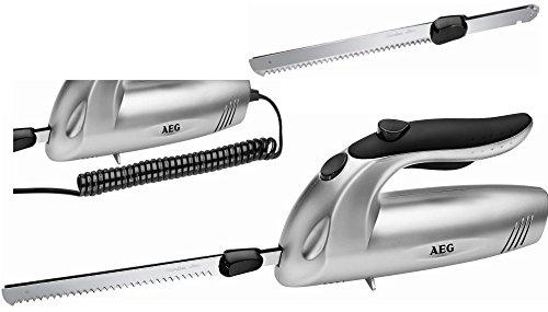 *AEG EM 5669 ELEKTRISCHES KÜCHEN-MESSER Brotmesser + EDELSTAHL-DOPPELKLINGE ELEKTROMESSER*