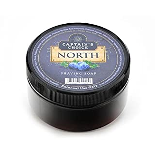 North Shaving Soap 5oz shave soap by Captain's Choice