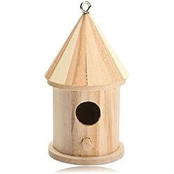 SMARTLADY Casas para pájaros de madera