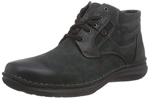 Josef Seibel Anvers 35 Herren Hohe Sneakers Schwarz (schwarz 600)