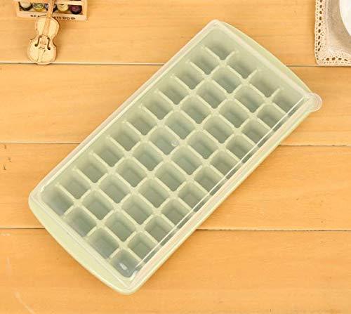 salamii 44Gitter mit Deckel ICE CUBE Formen Kunststoff Ice Pop Maker Eis Tablett 26x12.3x4.1cm grün