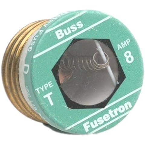 BussmannBP/T-8T Fusetron Plug Fuse-8A PLUG FUSE