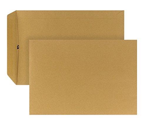 Post Cuerno 04250336Bolsa de envío autoadhesivo, 500unidades, B5, 176x 250mm, 90g, color marrón