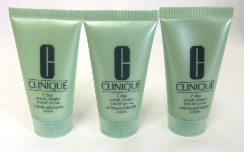 Clinique 7Day Scrub Cream rinse-off Formel 90ml (3x 30ml) -