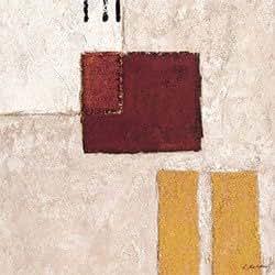 "Eurographics KKO1004 Reproduction d'art «Marques de pierre"" par Karsten Kostolny, 50x50 cm"