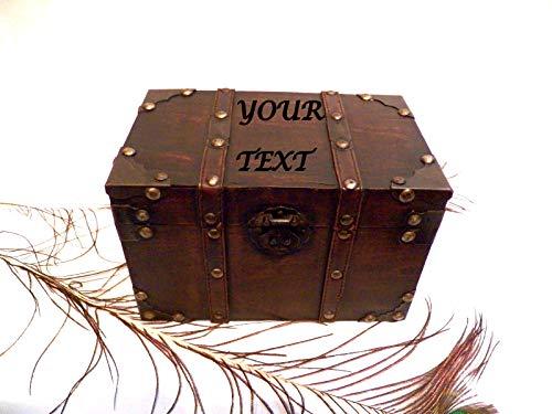 Antike Mann Box, personalisierte Jubiläumsbox, Box Box, antike Vintage Box, Box Hardware, Recycling-Vintage (Männer Antiken Ring)