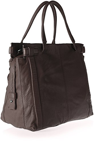 Liebeskind Berlin - Virginia Sporty, Borse a spalla Donna Marrone (Eagle Brown)
