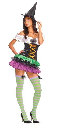 Rubies 3 889288 m - Kostüm Playboy Sexy Witch Größe M