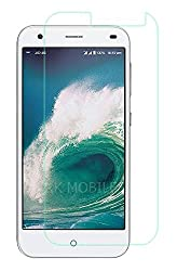 The RKMOBILES Tempered Glass Screen Protector. This Display Protector Is Made Of Shatter Proof Glass Comes With A Smudge Proof Coating And Application Is A Snap. The End Result Is A Crystal Clear View Of Your Screen Without The Hassle Of Bubbles Or D...