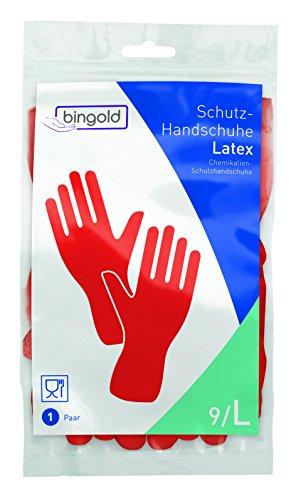 guanti rossi bingold 504412Lattice Guanti protettivi