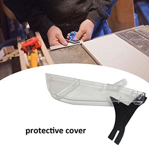 Stacked Table Saw Shield, Kreissäge, Mini-Kreissäge, 10-Zoll-Umkehrsäge Tischdecke Schutzhülle Mit Messer Tischkreissägen Schutzhaube Staubschutz Wippensäge Kreissäge Elektrische Tischkreissäge