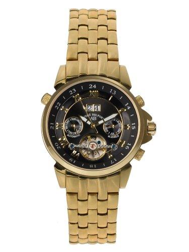 André Belfort Men's Étoile Polaire Watch 410134 Gold Black
