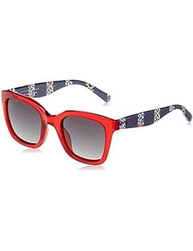 Tommy Hilfiger Unisex-Erwachsene Sonnenbrille TH 1512/S 9O, Schwarz (Red), 50