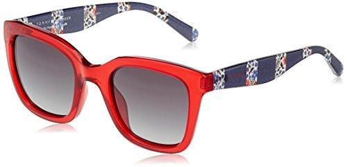 Tommy Hilfiger Damen Sonnenbrille TH 1512/S 9O C9A 50, Rot (Red/Grey) Preisvergleich