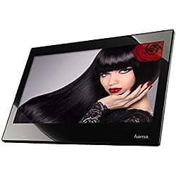 """Hama 133SLPFHD Cornice Digitale Multimediale, 13.3""""/33.80 cm, 16:9, 1920x1080, 4 GB, SD, SDHC, MMC, HDMI, Telecomando, Nero"""