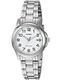 CASIO 19119 LTP-1215A-7B2D - Reloj Señora cuarzo brazalete metálico dial blanco